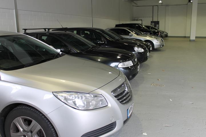 Sure parking indoor car park