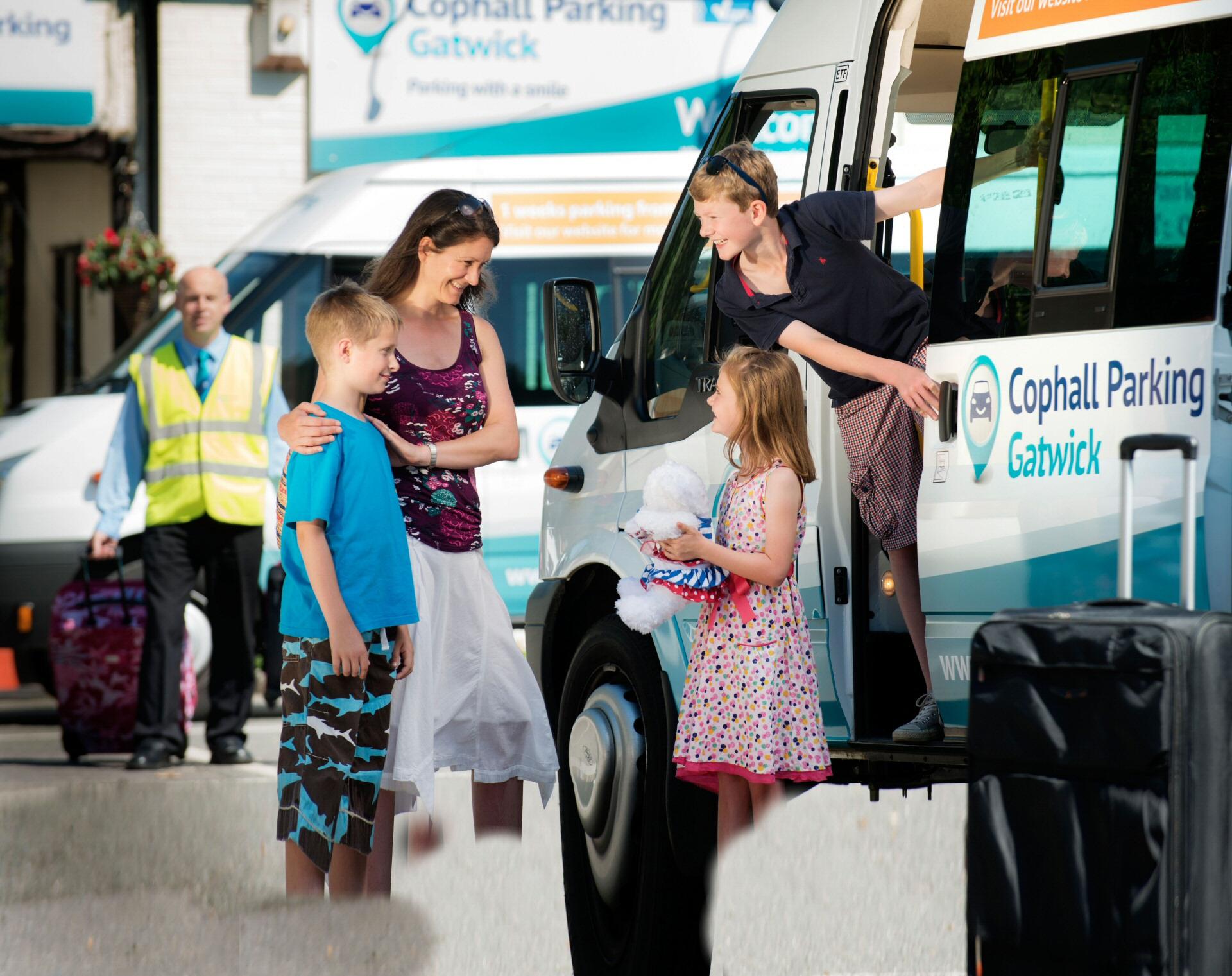 Cophall transfer bus
